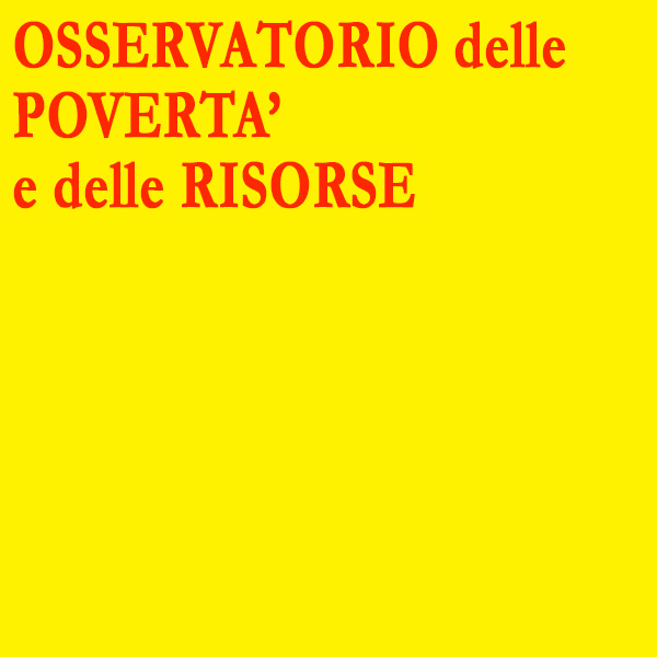 Osservatorio dell Povertà